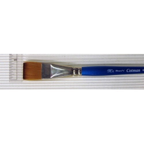 Winsor & Newton Cotman Water Colour Brushes 3/4 in. one stroke flat 666 by Winsor & Newton