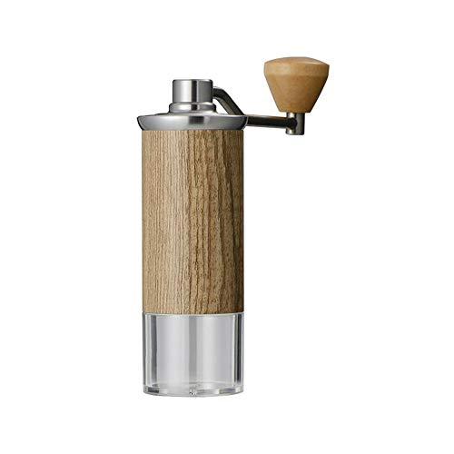 YUMUO Imitatie Hout Graan Koffie Grinder,Hand Grinder Koffiemolen Handmatige Espresso Grinder Koffiemachine Cuisinart Voor Café Thuis Mat Cappuccino