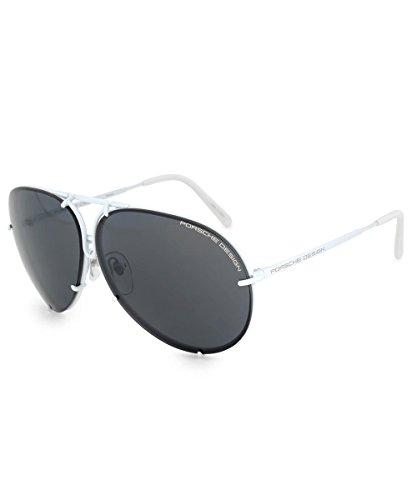 Porsche – P8478 - Occhiali da sole, design Sonnenbrille. bianco White