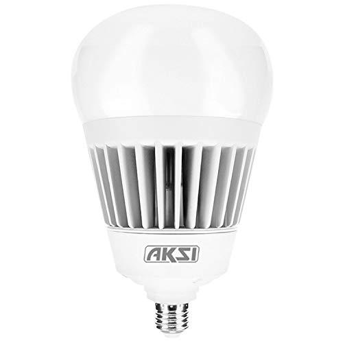 FOCO LED AKSI Alta Potencia, Equivalente a 400W (6300 lm - Lúmenes), Consume 70W (vatios), IP65, LUZ BLANCA 6500K, E27