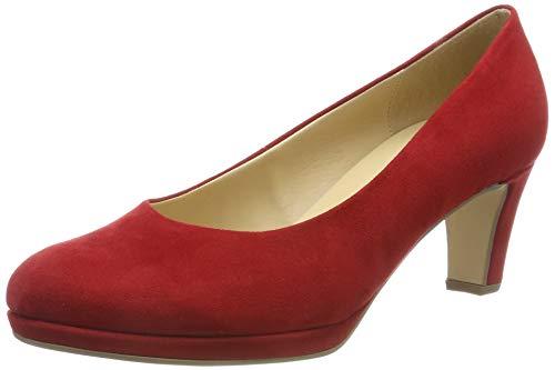 Gabor Shoes Fashion, Scarpe con Tacco Donna, Rosso (Cherry 55), 38.5 EU