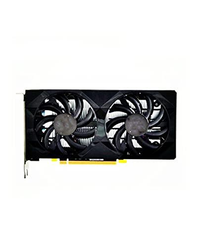 Enfriamiento de doble ventilador Fit For XFX RX 460 de 4GB Fit For AMD Radeon RX460 tarjetas de video de pantalla de 4GB GPU computadora de escritorio mapa de juegos tarjeta de video no minera