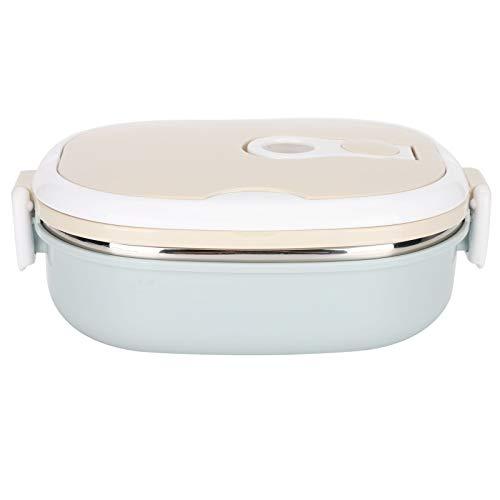 Fiambrera térmica Bento con aislamiento térmico de acero inoxidable, 1 – 3 capas de contenedores de alimentos para niños adultos, adecuada para el trabajo la escuela y la oficina (capa única 9