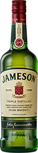 Jameson Original Irish Whiskey / Blended Irish Whiskey mit Jameson Single Irish Pot Still Whiskeys und Grain Whiskeys / 1 x 0,7 L