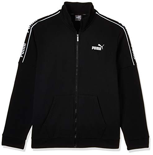 PUMA Herren Amplified Track Jacket FL Trainingsjacke, Black, L