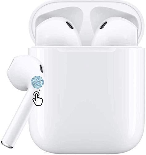 buenos comparativa Auriculares Bluetooth 5.0 TWS i12 Adecuados para auriculares con control táctil de seguridad estéreo 3D … y opiniones de 2021