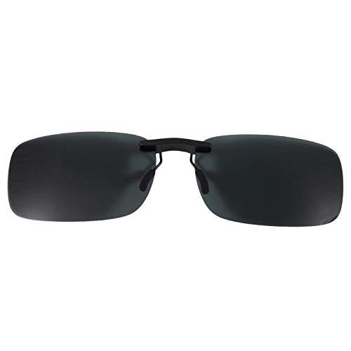 JVSISM Polarized Lente de Gafas De Sol Clip de Lentes Unisexo Claro Verde Oscuro