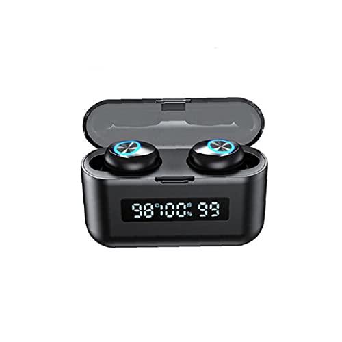 TWS X35 Auriculares inalámbricos auriculares Bluetooth Auriculares con estuche de carga Bluetooth Bluetooth Auriculares Bluetooth Power State Pantalla Running Sport Negro