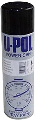 UPol Puissance Peut Noir Brillant Aérosol 500 ML