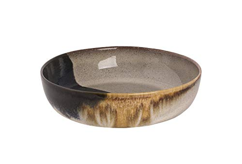 palmer Aquarel Keramikteller Teller tief Ø 22 cm beige blau