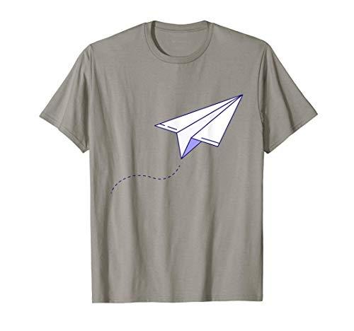 Avión de papel Avión de papel Maestro Origami Camiseta