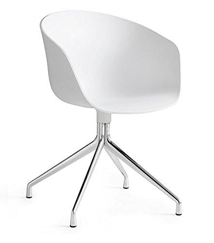 Hay – About A Chair AAC 20, Aluminium Poli – Blanc, AAC 20