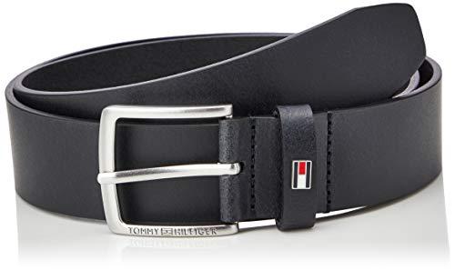 Tommy Hilfiger Herren Casual Leather Winter-Zubehör-Set, Black, 80