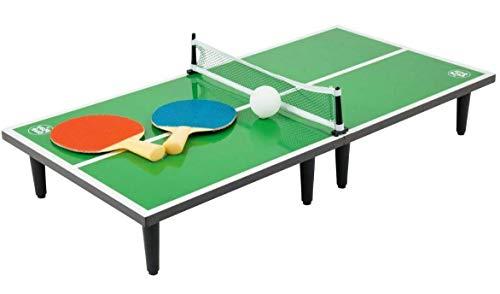 DeltaSport Mini-Tischtennisplatte für 2 Spieler Tischtennisplatte-Mini Tischtennis