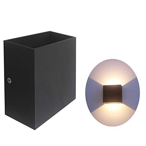 Bobique AC 85-265V 6W Cubo LED Apliques de Pared Luz COB Moderna Lámpara de Pared Accesorios de iluminación montados para Pasillo...