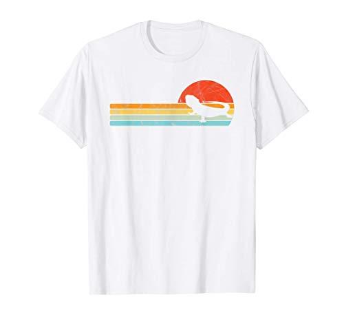 Dragón Barbudo Vintage Sunset Retro Style Lizard Reptile Camiseta