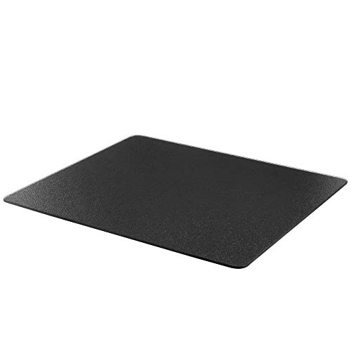 Surface Saver Vance 15 X 12 inch Black Tempered Glass Cutting Board, 81512BK, 15 X 12-Inch