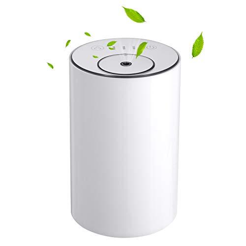 アロマディフューザー ネブライザー式 充電式 静音 噴霧 ミスト量調整可 タイマー機能 水なし 車用 充電式 ...