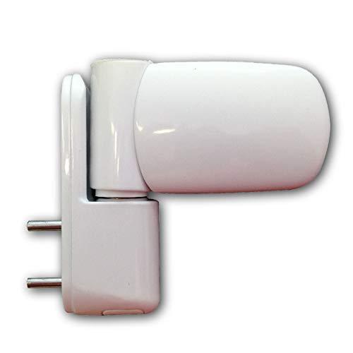 Avocet - ET3D - 3-fach verstellbares Türband für uPVC-Türen - Weiß
