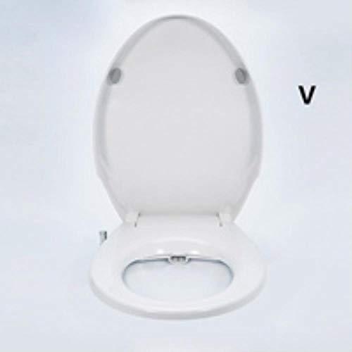 Frischwasser-Bidet-Toilettenaufsatz Nicht elektrisches mechanisches Sprühgerät mit Unterlegscheibe Einfacher, sauberer Körperbewässerungsapparat ORR, V.