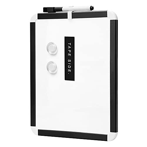 Amazon Basics - Lavagna magnetica cancellabile , con struttura in plastica, 21,6 x 27,9 cm