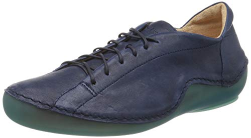 Think! Damen 686062_KAPSL Sneaker, Blau (Indigo/Kombi 90), 43 EU
