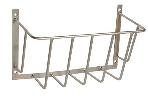 Kerbl Heuraufe Stababstand 80 mm Raufe verzinkt 55,9 x 29,5 x22,8cm 3230