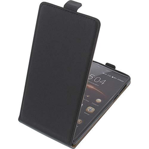 foto-kontor Funda para Leagoo M8 Pro Protectora Tipo Flip para móvil Negra