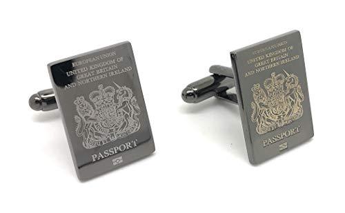 Simon Carter Passeport Argent À Londres boutons de manchette de