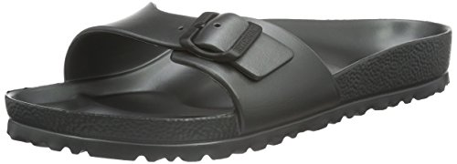 Birkenstock Womens Madrid Eva Open Toe Summer Sandals - Anthracite - 5-5.5