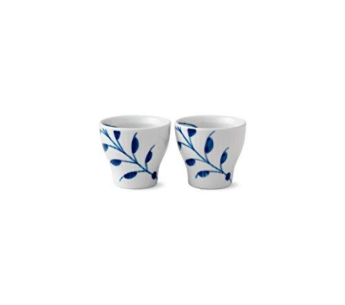 Royal Copenhagen Coquetier en porcelaine Bleu