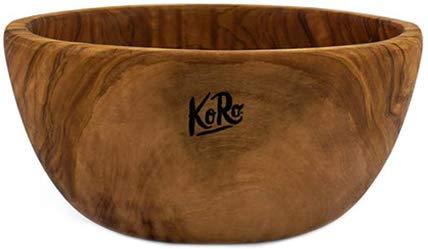 KoRo - Holzschale aus Olivenholz 18 x 7 cm - Schale aus Holz - Obstschale