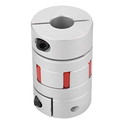 Acoplamiento de eje de mandíbula, acoplador flexible, amortiguador liso (15 * 15 mm) para bombas de compresores