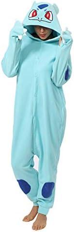 Funnyparty Animal Cosplay Pajamas Cartoon Onesie Costume Adult One Piece Sleepwear Costume Women product image
