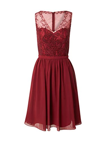 Mascara Damen Cocktailkleid weinrot 34