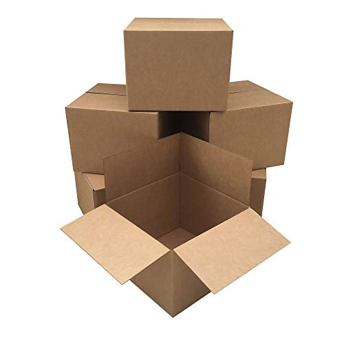 Moving Boxes Large Size 20x20x15' Boxes (Value 6 Pack) Packing/Shipping/Storage Boxes