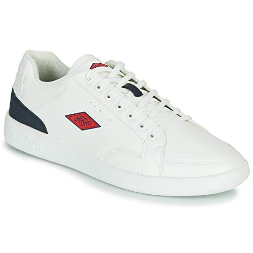 UMBRO Ince Sneaker Herren Weiss/Marine - 44 - Sneaker Low Shoes