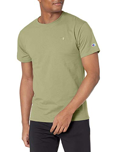 Champion Men's Classic Jersey Tee, Ecology Green, Large