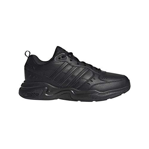 adidas Men's Strutter Wide Cross Trainer, core Black/core Black/Grey Six, 11.5