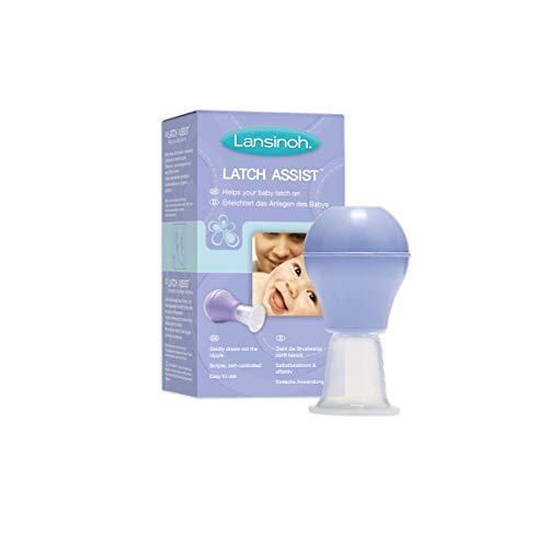 Lansinoh Latch Assist - sanfter Brustwarzenformer - erleichtert das Anlegen des Babys...