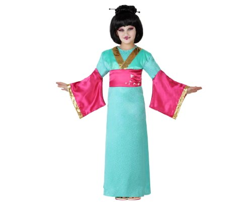 Atosa 23651 Costume Geisha, Bambina T2 5-6 Anni