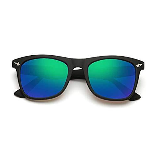Yayan Gafas De Sol De Movimiento Ultraligero Vintage Decorativo Espejo Street Beat Reflective Travel Anti-UV400 Luz Polarizada Personalidad Moda (Color : E)