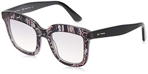 Etro ET651S, Acetate - Gafas de Sol Smoke Paisley Unisex para Adulto, Multicolor, estándar