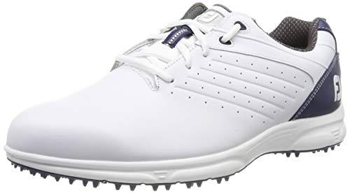 Footjoy Herren Fj Arc Sl Golfschuhe, Weiß (Blanco/Azul Navy 59704m), 43 EU