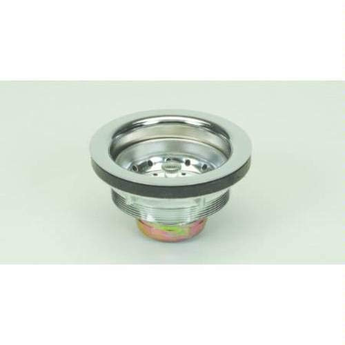 PROFLO PF250PC PROFLO PF250 Kitchen Sink Drain Assembly and Basket Strainer - Fits Standard 3-1/2