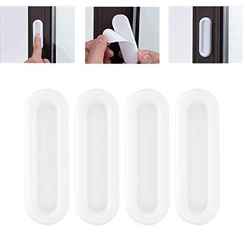 Bouton d armoire, poignée de porte résistante à l usure, apparence simple pour fenêtre de porte d armoire de placard