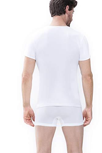 """Mey Basics """"Software"""" Herren Shirts 1/2 Arm Weiß 5 - 2"""