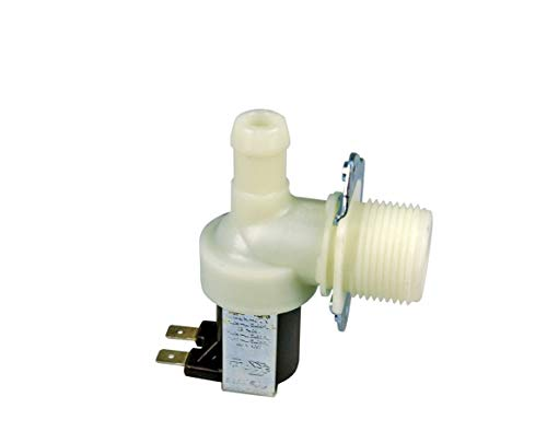 VIOKS Magnetventil Ventil Einlaufventil für Waschmaschine oder Spülmaschine 1-fach 90° 11,5mmØ, Universal