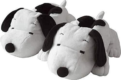 familie24 Snoopy 3D Plüschpantoffel Gr. 35-37 Hausschuhe Slipper Kinderpantoffel Peanuts