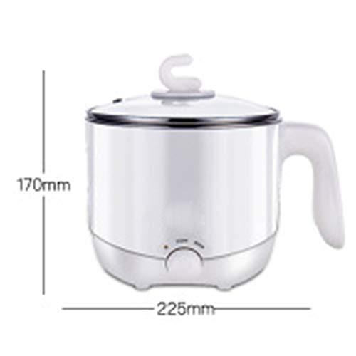 FJJ Elektro Hot Pot, Express-Elektroherd Hot Pot mit Temperaturregelung für Nudeln, Reis, Nudeln, Suppen, Boiling Water & More,A